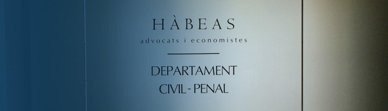 Departament Civil – Penal